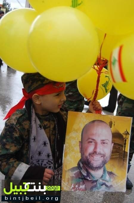 حزب الله وأهالي الكفور الجنوبية شيعوا الشهيد المجاهد حسين أمين قعون الى مثواه الأخير