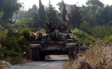 كمين محكم للمسلحين اثناء فرارهم من الغوطة الشرقية