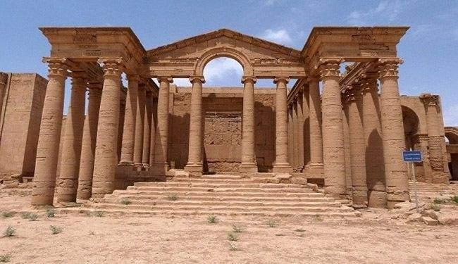 تنظيم الدولة الاسلامية يجرف مدينة نمرود الاثرية بالآليات الثقيلة