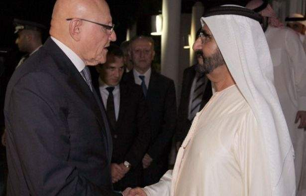 ماذا قال حاكم دبي لسلام عن ترحيل اللبنانيين؟