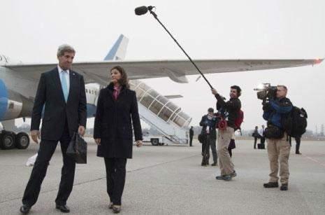 هل بدأت واشنطن استدارتها؟  كيري: مستعدون لمفاوضة الأسد