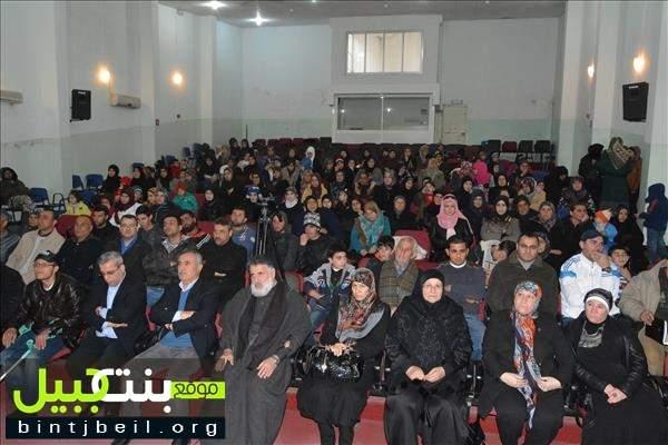 حركة أمل أحيت عيد الأم في ثانوية بنت جبيل الرسمية
