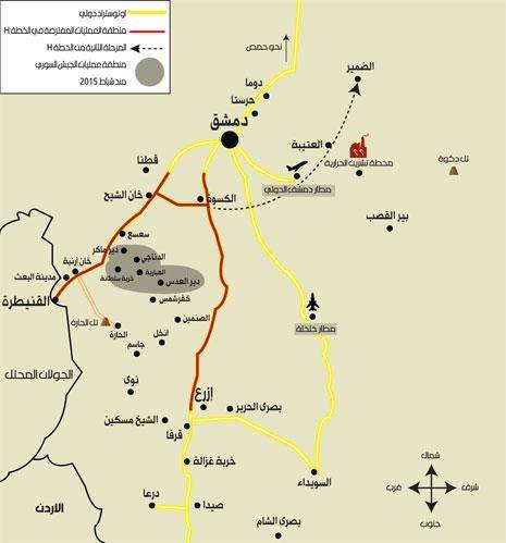 معركة جنوب سوريا الخطة H