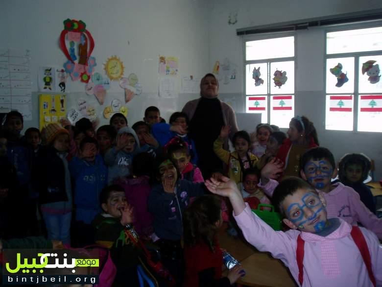 مدرسة عبد اللطيف سعد الرسمية احتفلت بعيدي الأم والطفل
