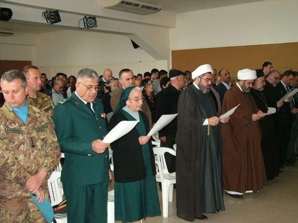 لقاء اسلامي - مسيحي لمناسبة عيد البشارة في عين ابل