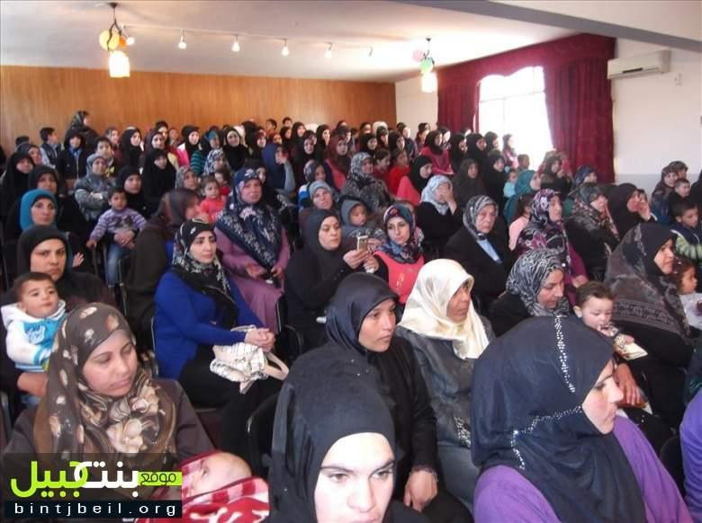 إحتفال بمناسبة عيد الأم في مدرسة بنت جبيل الرسمية الثانية المختلطة