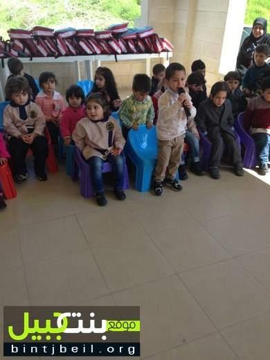 مركز الخدمات الانمائية في بنت جبيل احتفل بعيدي الأم و الطفل