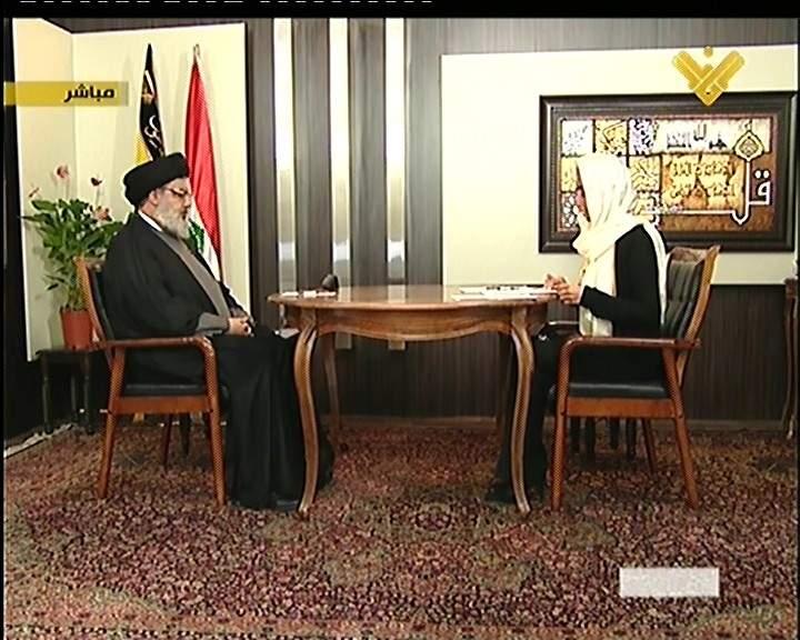 """السيد نصر الله: الموقف السعودي الخليجي من ايران سببه انها تعادي """"اسرائيل"""""""