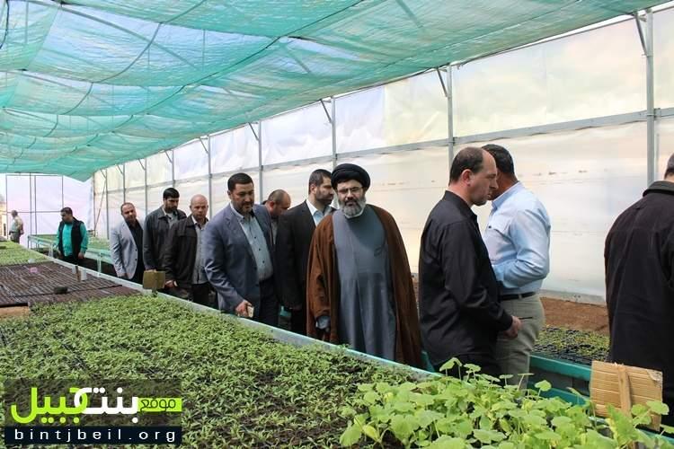 جولة لرئيس المجلس التنفيذي في حزب الله على المراكز الزراعية في  بنت جبيل