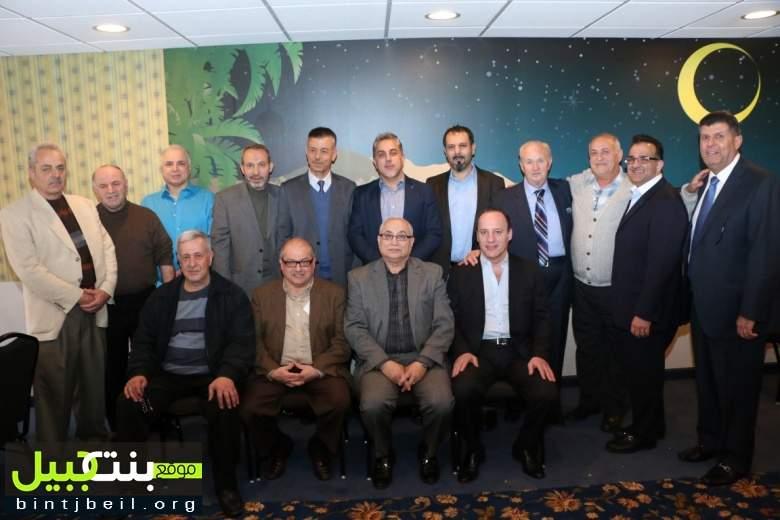 تكريم عميد كلية العلوم في الجامعة اللبنانية الدكتور حسن زين الدين في ميشيغن