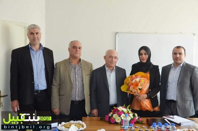 دكتوراه لبنانيّة للطالبة عز الدين بدرجة جيّد جدًا