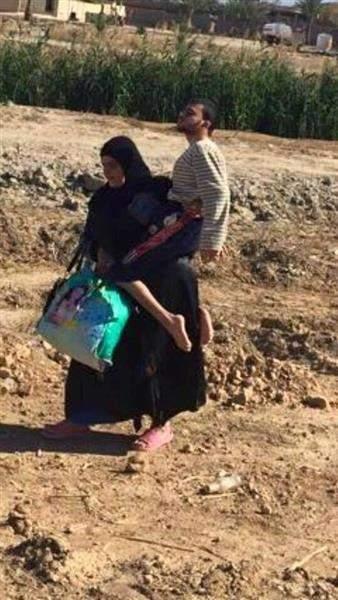 صورة أمّ عراقيّة أبكت الإنترنت