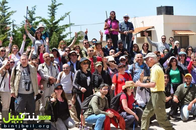 مجموعة  Vamos Todos  تزور بلدة يارون الجنوبية الحدودية