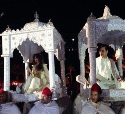 بالصور والفيديو: زفاف اسطوري لنجل ميقاتي بكلفة 25 مليون دولار!!!