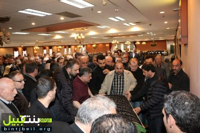 الجالية اللبنانية في ديربورن شيعت المرحومة الحاجة سكنة أيوب بزي (ام صلاح)