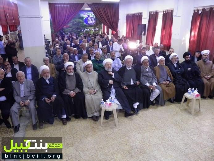 """ندوة فكرية تحت عنوان : """"السيد عبد الحسين شرف الدين قدس سره""""في ذكرى مؤتمر وادي الحجير"""""""