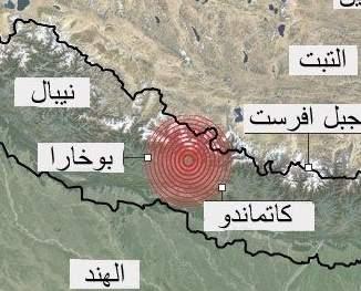 بريطانية تنجو باعجوبة من تسونامي 2004 ومن زلزال نيبال!