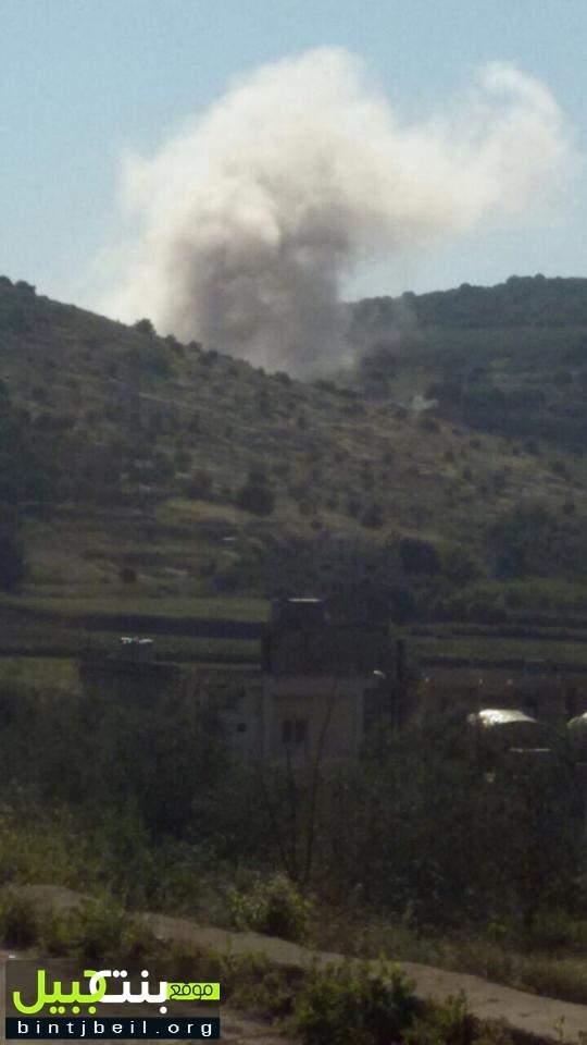 بالصور / ما هي حقيقة الانفجار الذي هز ميس الجبل قبل قليل