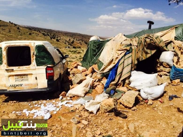 ليلة سقوط المعسكرات التكفيرية / موقع بنت جبيل يدخل القلمون