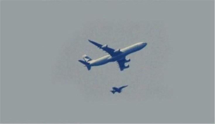فرنسا ترسل طائرة حربية لإيقاظ قائد الطائرة ومساعده من النوم