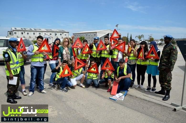 إحياء الأسبوع العالمي للسلامة المرورية في مقر قيادة القطاع الغربي لليونيفيل