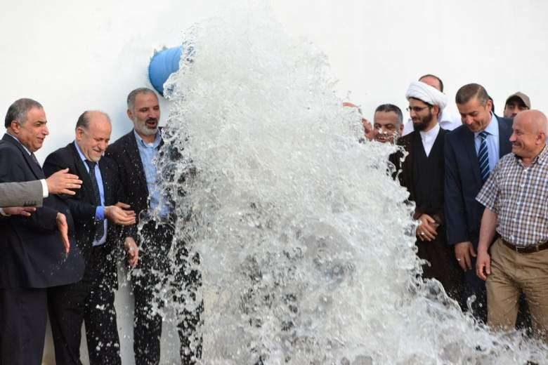 قبلان قبلان يدشن محطة ضخ مياه في بنت جبيل برعاية بري