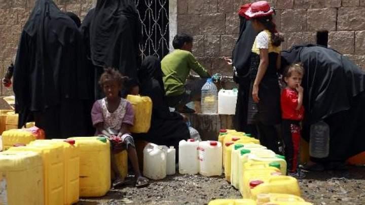 منظمة اوكسفام: الحرب على اليمن تركت 16 مليون مواطن بدون مياه صالحة للشرب