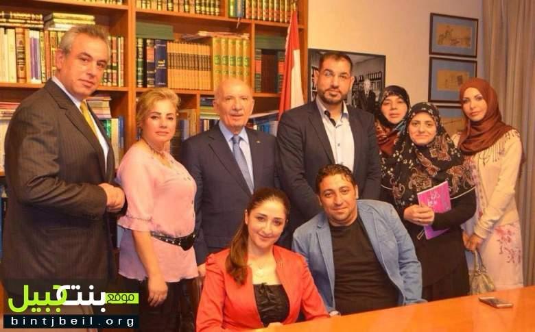 جمعية حواس في ضيافة رئيس مجلس النواب السابق حسين الحسيني
