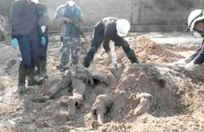 العثور على 80 جثة لأكراد ايزيديين شمال الموصل العراقية