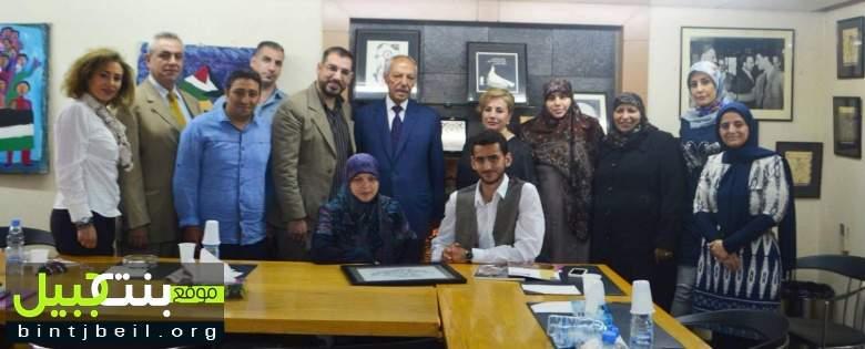 حواس تلتقي رئيس تحرير جريدة السفير طلال سلمان
