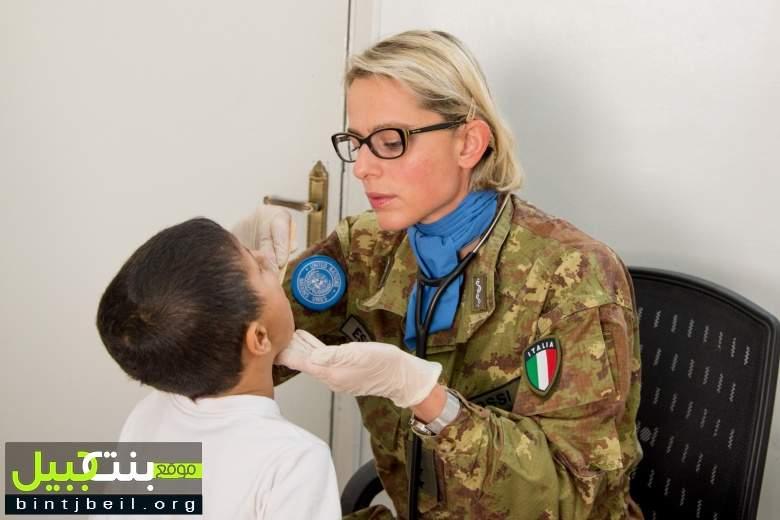 حملات طبية لوحدات اليونيفيل في القطاع الغربي
