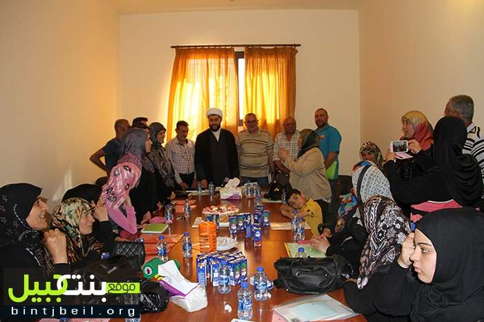 مكتب شؤون المرأة في المنطقة السابعة أحيا ولادة الأمام المهدي (عج)