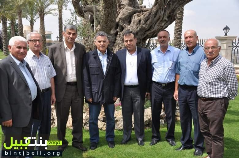 اللواء ابراهيم التقى وفدا من مجلس بلدية الدوير