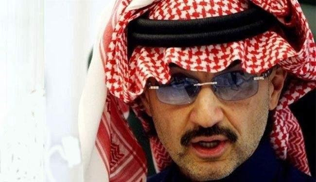 """الوليد بن طلال يعلنها بصراحة: عدونا إيران ونحن مع """"إسرائيل"""""""