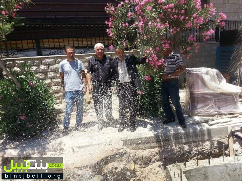 بدء ضخ المياه في بنت جبييل