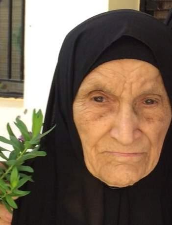 الحاجة زهرة الشيخ محمود شرارة في ذمة الله