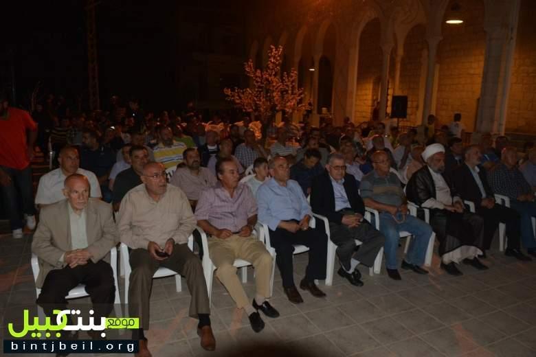 احتفال حاشد في المسجد الكبير بمدينة بنت جبيل بمناسبة اسبوع المسجد