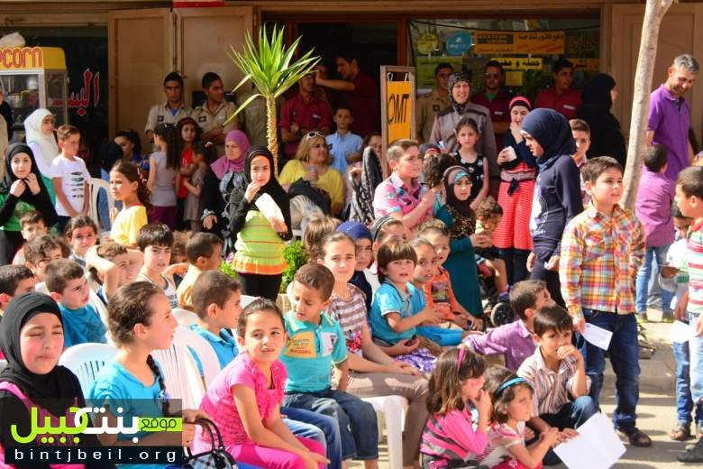 سنابل الجنوب اقامت مهرجانها السنوي للأطفال في سوق بنت جبيل