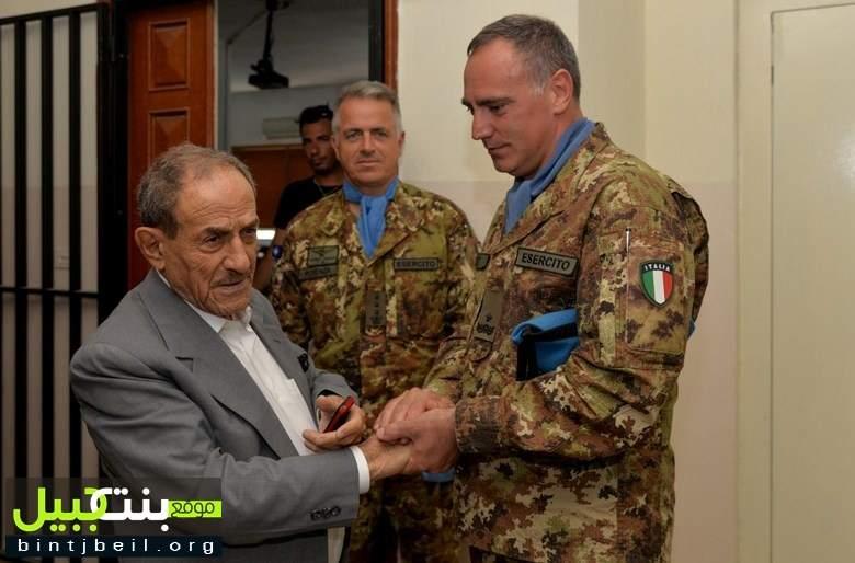 لقاء  للجنرال الإيطالي سالفاتوري لكووتشي برؤساء بلديات قضاء صور