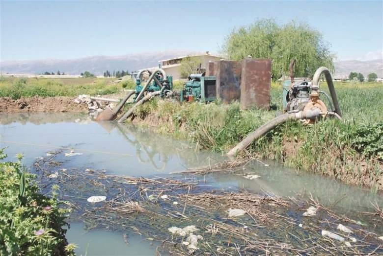 نهر الليطاني ... مجرى الموت والتلوث
