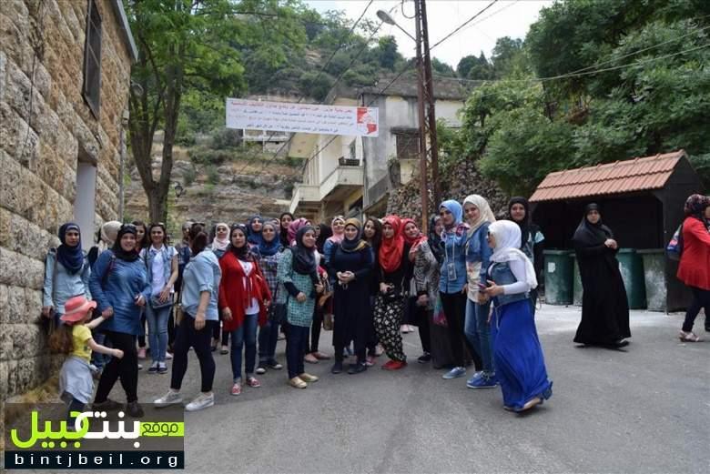 أصدقاء المكتبة العامّة في بنت جبيل في زيارة متنوعة الأهداف إلى جزين