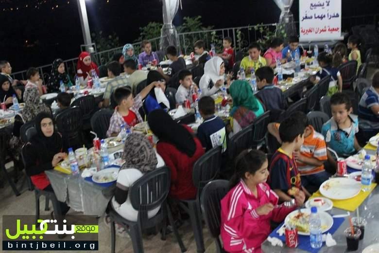 جمعيتا شمران الخيرية والرؤية العالمية تقيمان حفل  افطاراً للأطفال