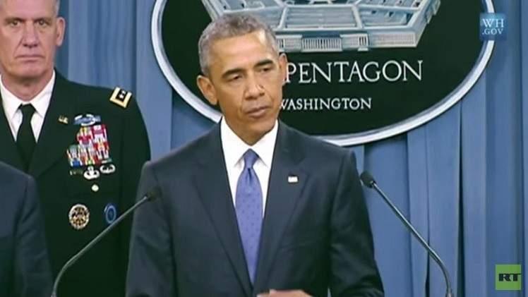 """أوباما: نسرع تدريب قوات """"داعش"""" (فيديو)"""