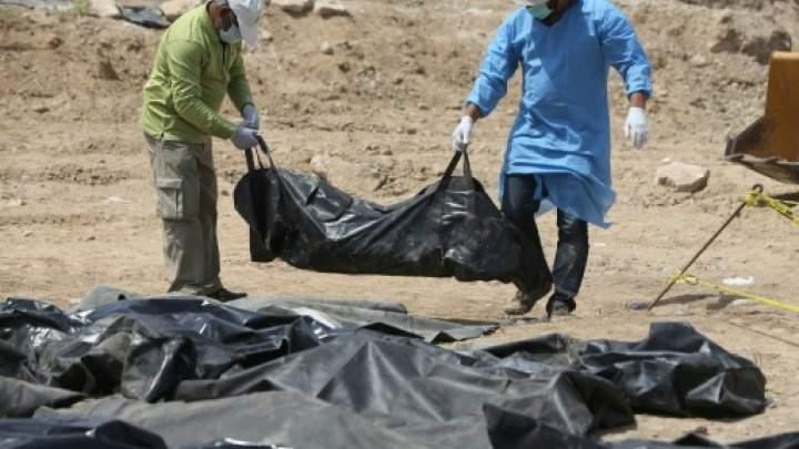 داعش ينشر مشاهد جديدة لقتل مئات المجندين العراقيين في مجزرة سبايكر