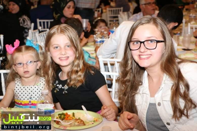 جمعية المبرات الخيرية  في ديربورن اقامت افطارها السنوي لجمع التبرعات للايتام بحضور حاشد