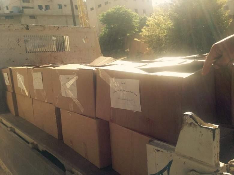 جمعية المرحوم الحاج موسى عباس الخيرية وزعت اكثر من 50 حصة رمضانية في بنت جبيل