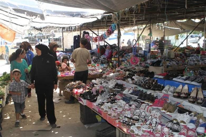 السوق الشعبي في بعلبك... ملاذ الفقراء