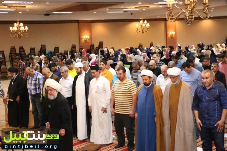 تقرير مصور من صلاة العيد في المجمع الاسلامي الثقافي في مدينة ديربورن الامريكية 🏻