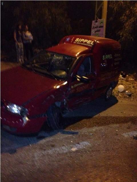 7 جرحى في حادث سير على طريق شوكين
