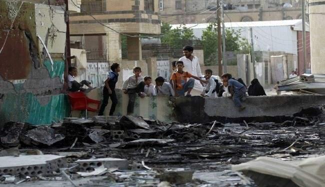 مجزرة سعودية جديدة غربي تعز تخلف عشرات الضحايا